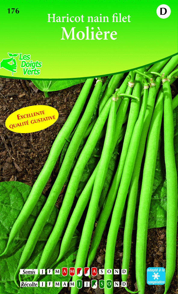 Jardinerie en ligne cote jardin haricot nain moliere for Jardinerie en ligne