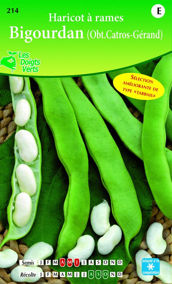 Cote jardin jardinerie en ligne haricot rame bigourdan for Jardineries en ligne