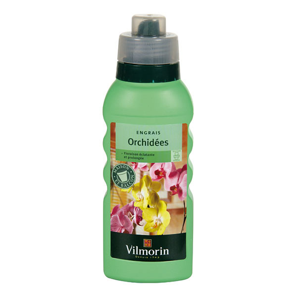 Engrais orchid es liquide vilmorin c t for Jardinerie en ligne