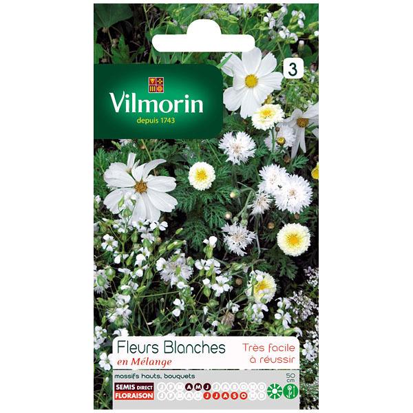 Jardinerie en ligne cote jardin feurs blanches en m lange for Site jardinerie en ligne